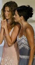 Jen and Courteney reunite on screen