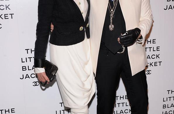 Linda Evangelista and Karl Lagerfeld Little Black Jacket celebrations (PICS)