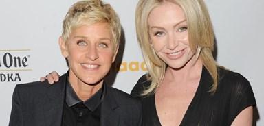 Portia de Rossi and Ellen DeGeneres celebrate fourth wedding anniversary
