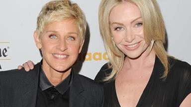 Portia de Rossi and Ellen DeGeneres celebrate fourth wedding anniversary