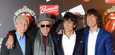 The Rolling Stones are rolling in the money