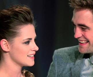 Rob and Kristen's fake reunion