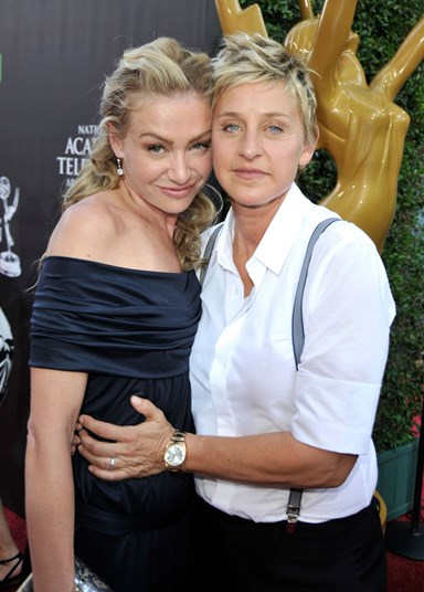 Portia de Rossi: The day I fell for Ellen DeGeneres