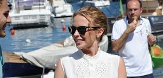 Kylie Minogue splits from her boyfriend