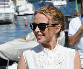 Kylie Minogue splits from her boyfriend
