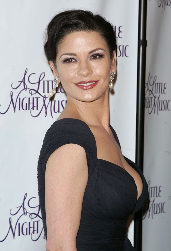 """Catherine Zeta-Jones has a juicy solution for teeth whitening - strawberries. """"The juice or pulp of strawberries contains malic acid which serves as an astringent and can lighten surface stains,"""" [she said in an interview](http://www.dailymail.co.uk/tvshowbiz/article-1128664/The-beer-shampoo-strawberry-toothpaste-keeps-Catherine-Zeta-Jones-looking-youthful.html target=""""_blank""""). The brunette bombshell also washes her hair in beer, which removes the buildup of dirt and oils on the hair's surface as well as adding a bit of shine."""