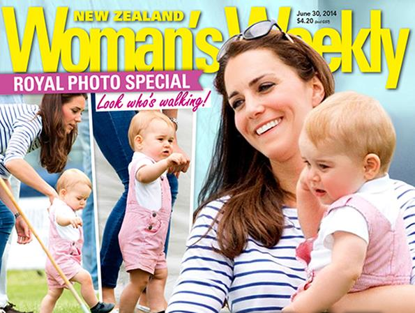We featured the adorable tot and his mum on the cover of New Zealand Woman's Weekly June 30 issue.
