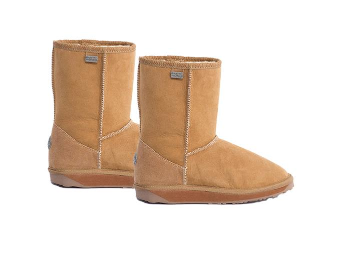 Slipper boots  These EMU Australia Platinum Stinger Lo in Chestnut, $219.95, are a bit of an investment, but the suede material, durable rubber outsole and water-tight stitching are made to last. See EMU Australia.