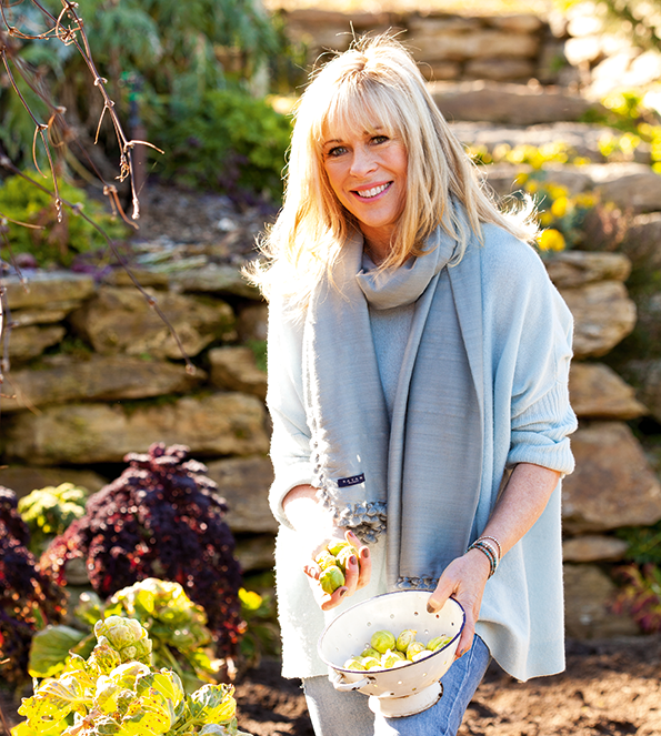Annabel's Wanaka garden was the inspiration for her latest cookbook, Through the Seasons.