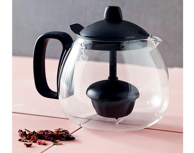 Tupperware Teaz Me Set, $131. Set includes tea pot (pictured) and two mugs.