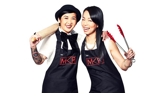 The MKR contestants first met as little girls, but it took a while for tough Dal (left) to warm to sweet Dai.