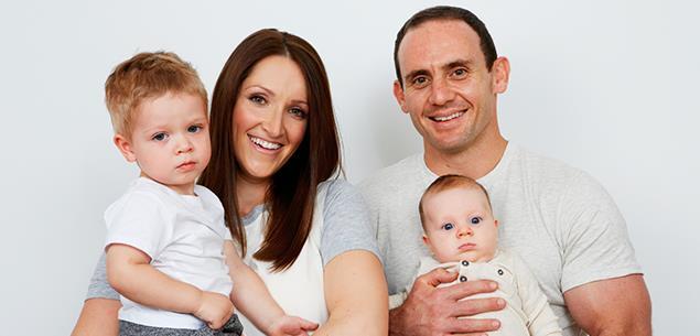 Lance Hohaia and family