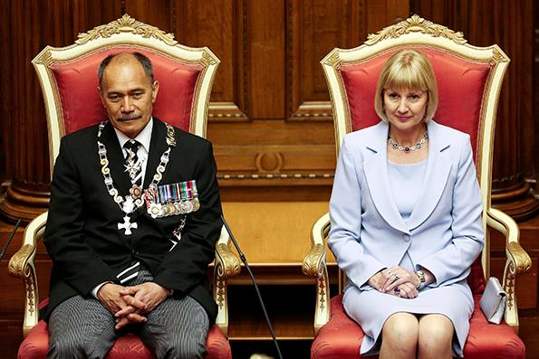 Governor General Sir Jerry Mateparae with Lady Janine Mateparae.