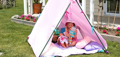 How to make your own kids tent