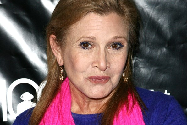 Ford's eccentric co-star Carrie Fisher worries their accidents may be the result of a curse on the Star Wars film franchise.