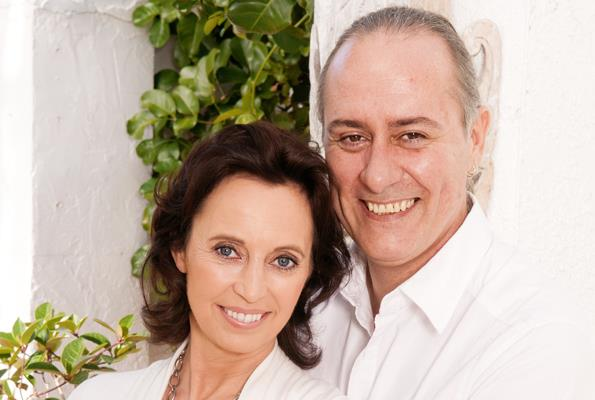Suzanne's husband Duncan supported her through the noticeable changes she experienced from menopause.