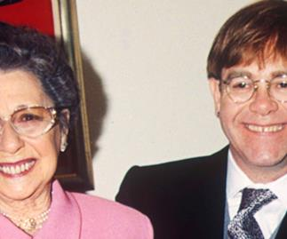 Elton John and Mother