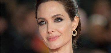 Angelina Jolie's in seventh heaven