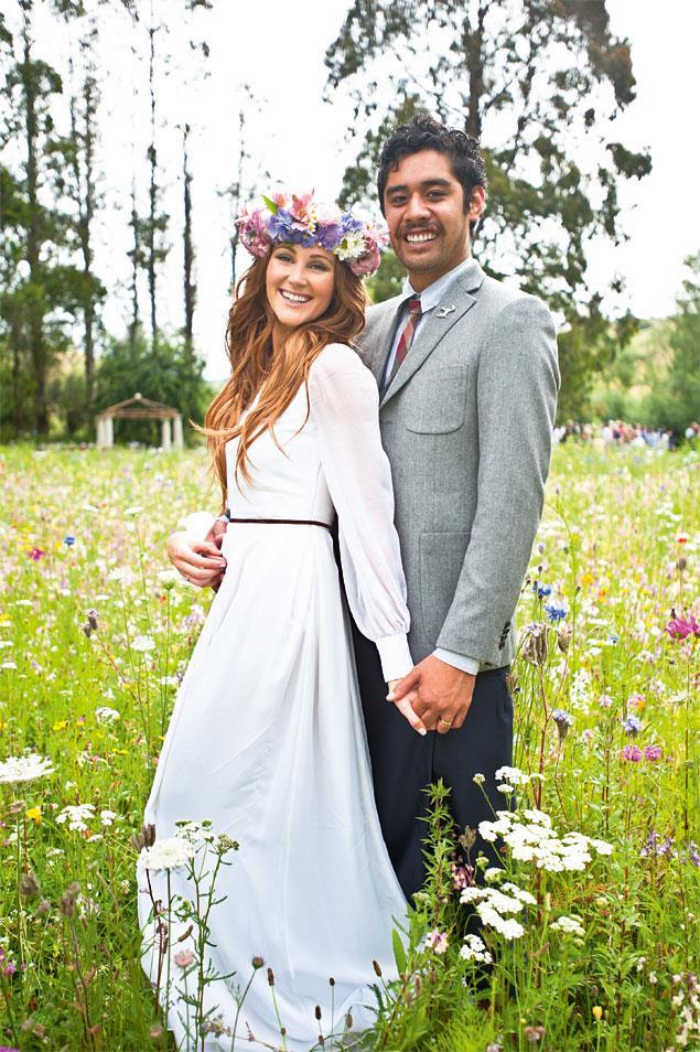 And [Amelia Reid's big day](http://www.womensweekly.co.nz/latest/celebrity/amelia-reid-and-shadon-merediths-dream-day-7806) with husband Shadon Meredith.