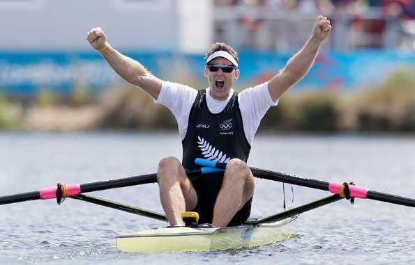 Mahe Drysdale wins gold