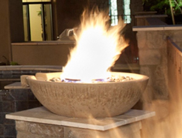 Firepits can be an inexpensive way to heat up the outdoors, and they add real drama to the garden.