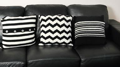 Knit your own cushions