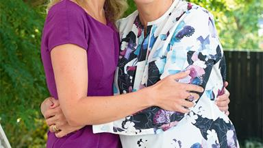 Lorraine Downes and her mum: 'We've never been so close'