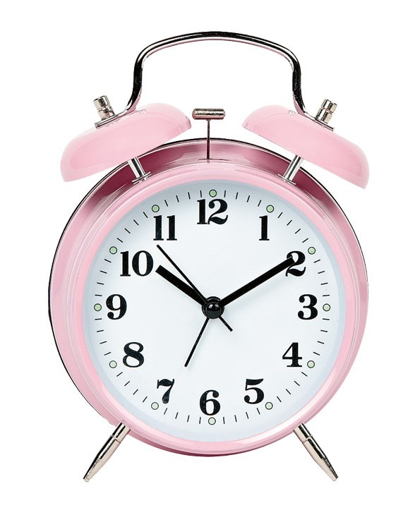 Time flies - but at least you can keep track with this classic retro alarm clock, $14.99, at The Warehouse.