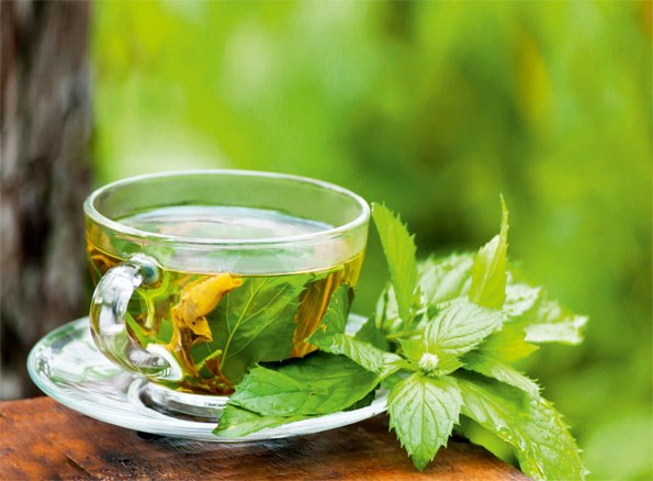 **Green Tea** For an all natural toner, brew up a strong cup of green tea, let it cool and apply it to your face with a cotton ball.