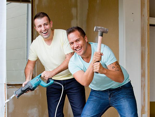 Tamati and Tim plan to live in their newly purchased Rotorua house, but their dream home needs a bit of TLC first.