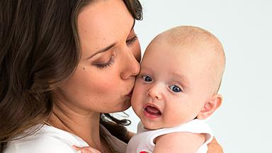 Former Shortland Street actress Anna Jullienne's amazing baby boy