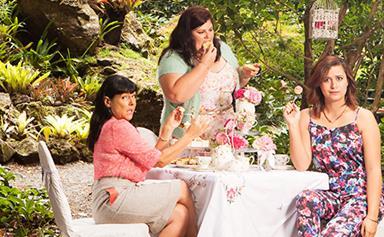 Comedy friendship: Urzila Carlson, Michele A'Court and Rose Matafeo