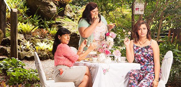 Rose, Michele and Urzila