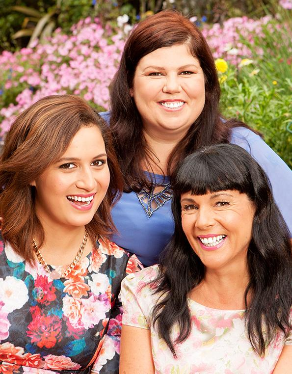 Rose Matafeo, Urzila Carlson and Michele A'Court