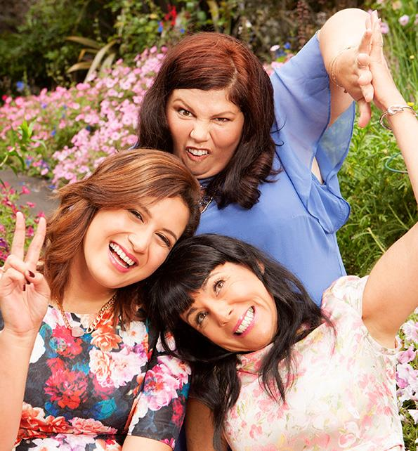 When it comes to laidback laughs, Urzila, Rose and Michele take the cake.