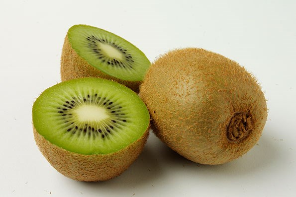 Kiwifruit contain enzymes which help aid digestion and beat the bloat.