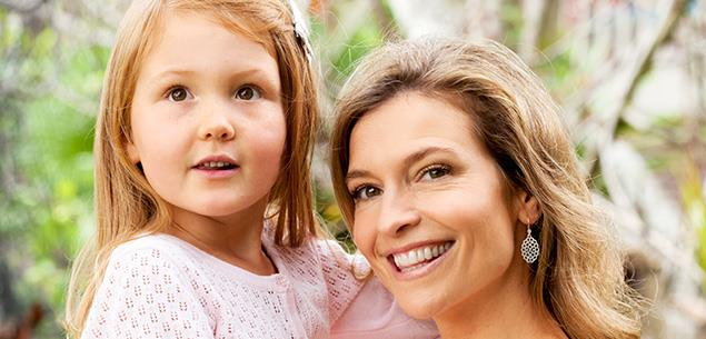 Tandi Wright and daughter