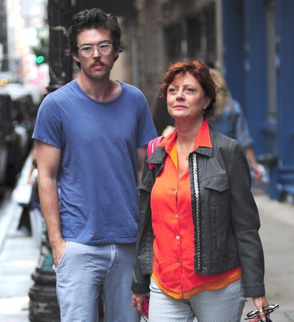 Susan with former boyfriend Jonathan Bricklin.