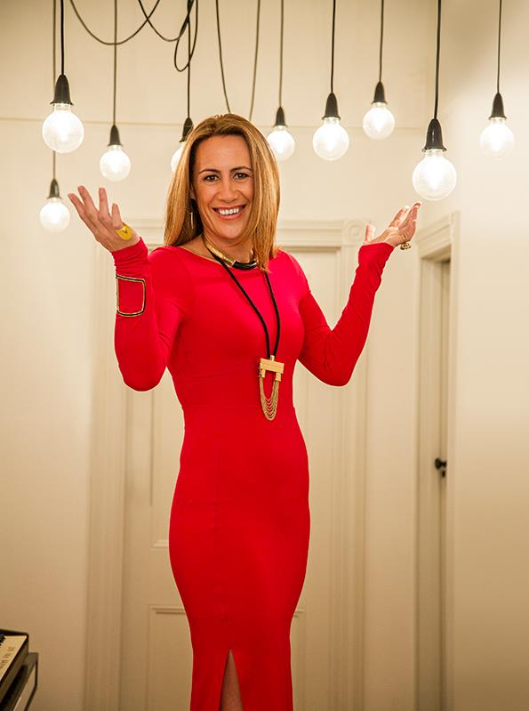 Jenny-May has a relaxed approach to ageing and apart from dying her hair, that is where her anti-ageing regime ends.