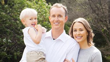 Paralympian Carl Murphy's family bliss