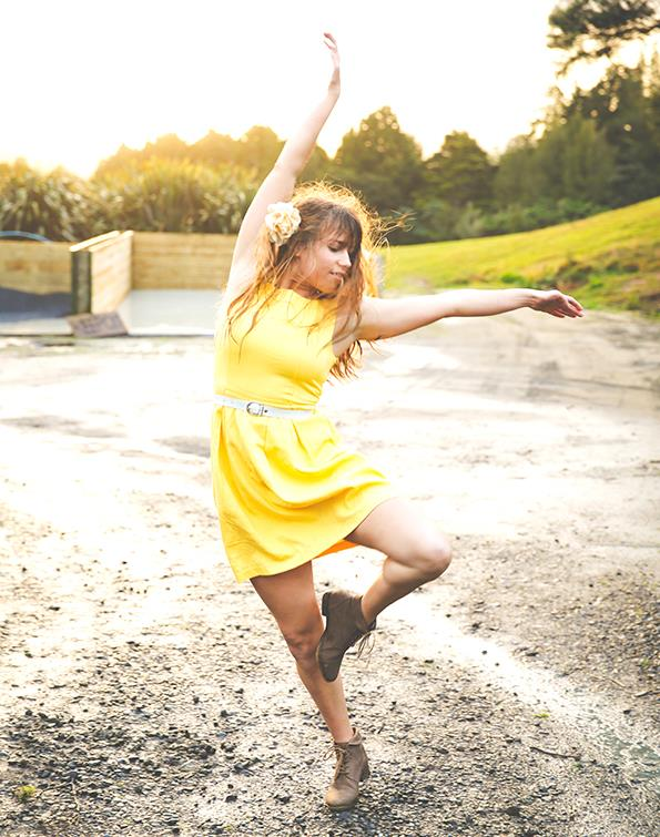 Renee was midway through a Bachelor of Dance Studies when tragedy struck.
