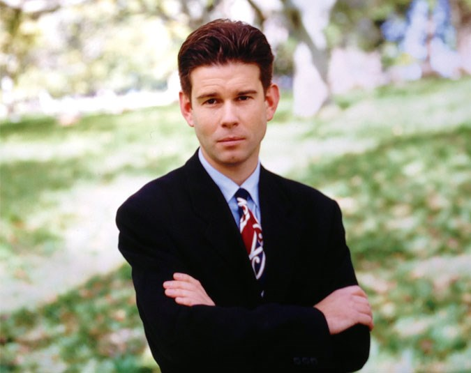 A fresh-faced John first joined TV3 in 1991 as a junior reporter in the network's Wellington newsroom.