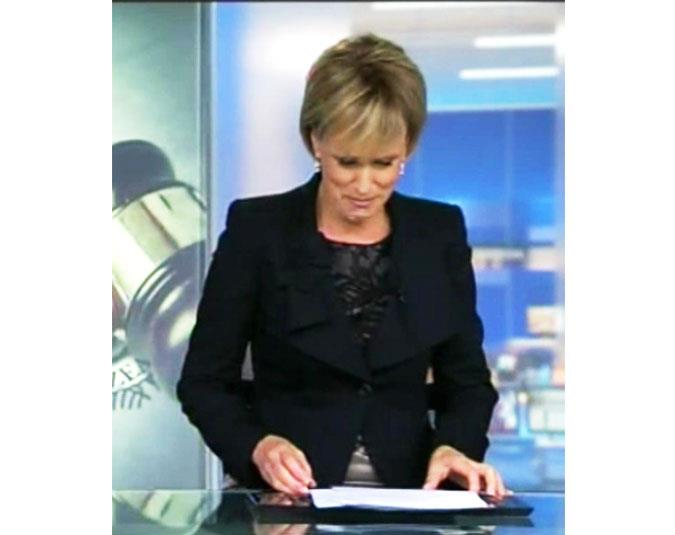 """TV3 colleagues have shown their sadness over the presenter's departure. During 3News, Hilary Barry couldn't hold back the tears after seeing a tribute to John. """"I think Mike might have to read this,"""" she said, referring to co-anchor Mike McRoberts."""