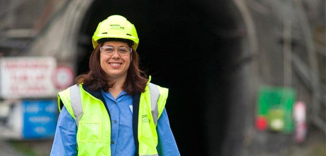 Mining inspector, Priscilla Page
