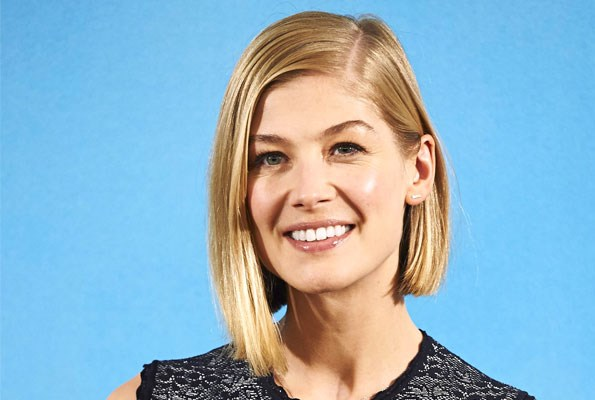 Rosamund is an Oscar nominee for her role in *Gone Girl*, and claims she makes a better actress than an academic.