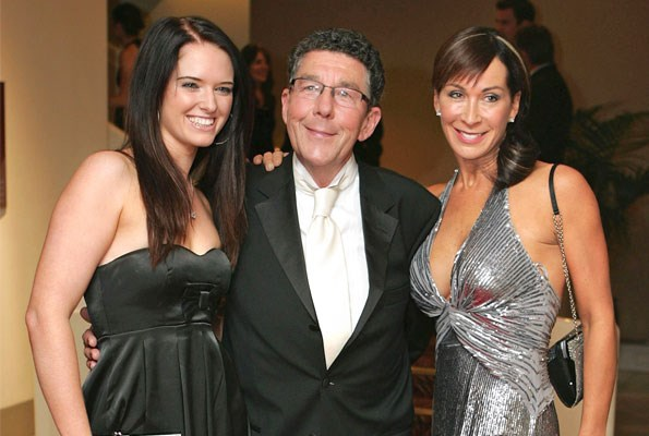 In the 2007 season of *Dancing with the Stars*, Rebecca, pictured with Candy Lane, partnered the late broadcaster Sir Paul Holmes.