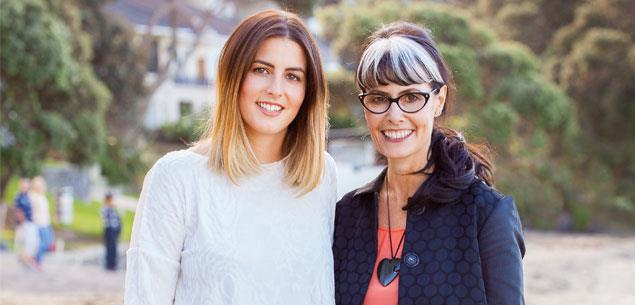 Annah Stretton's daughter Sam Stretton has joined the fashion designer and business women's clothing empire.