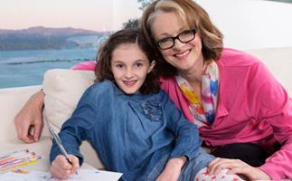 After a recent scare at home, when bone become lodged in her throat, Shortland Street star Miranda Harcourt is heading in the write direction.