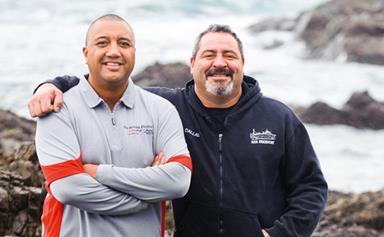 Sea survivors' incredible bond