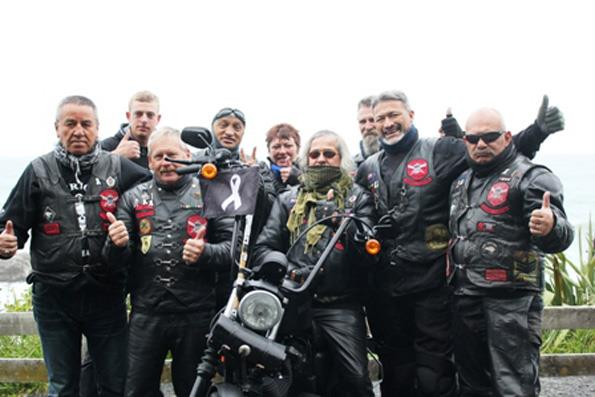 The ex-servicemen and motorcycle enthusiasts are travelling the country to spread the word to men and women about the need to stand up and speak out to end violence in relationships.
